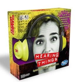 Spelet Hearing Things - Läs på läpparna och se hur snabbt du kan gissa frasen!