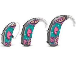 Universal skins för hörapparater