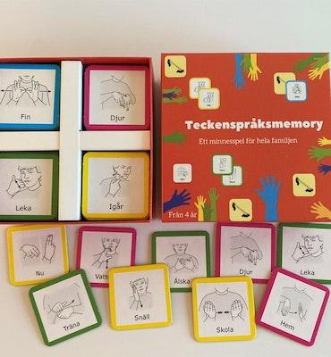 Memosys  Teckenspråksmemory