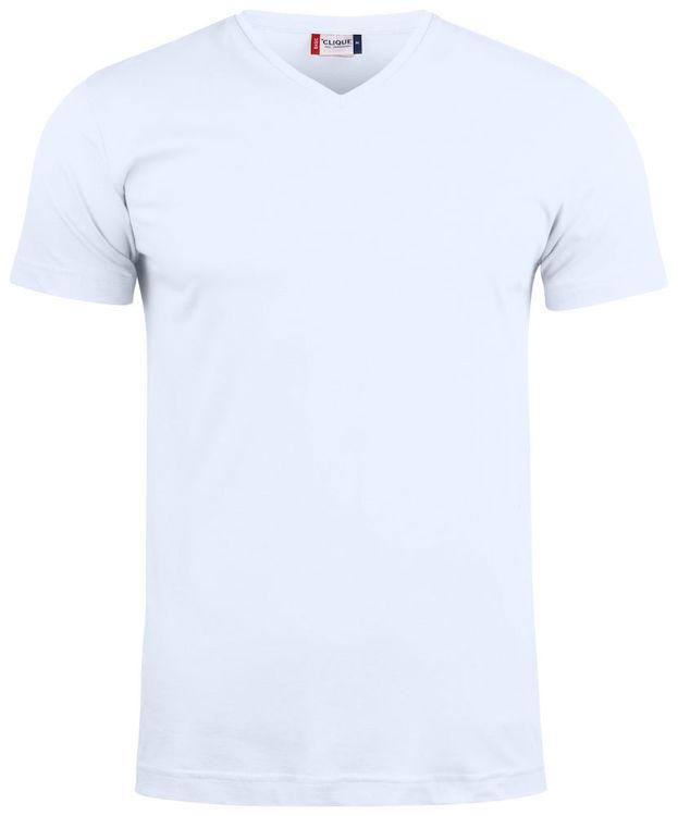 T-shirt - HELA handalfabetet - V-Neck - Unisex - Vuxen