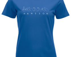 T-shirt med EGET NAMN ELLER ORD  - Dam