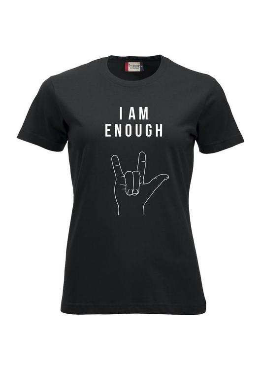 T-shirt -I am beautiful - I am enough - Dam