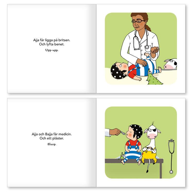 Ajja & Bajja hos doktorn
