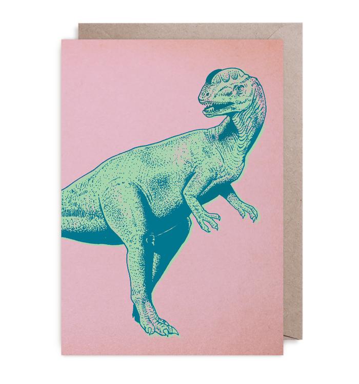 Kort - Bright Dino