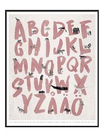 Alfabet Poster