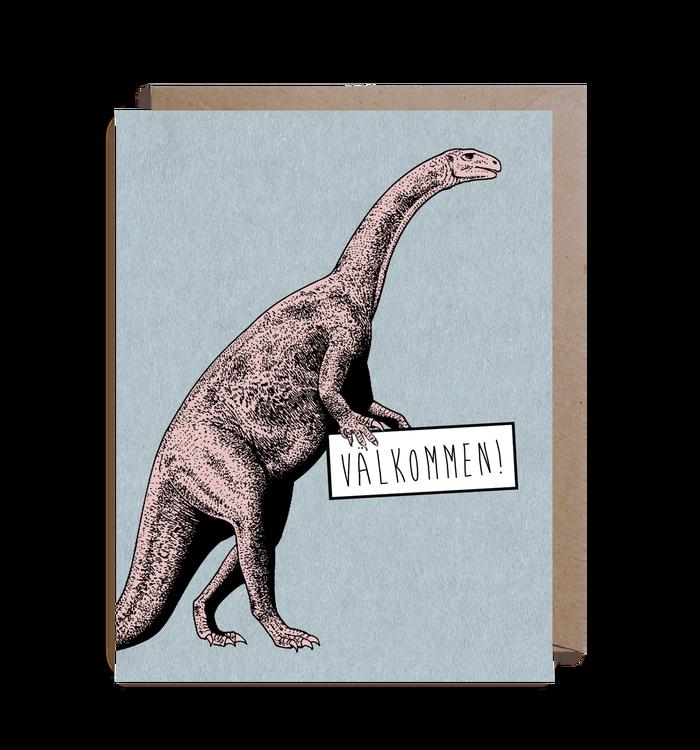 Inbjudningskort - Dinosaur!