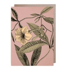 Kort - Yellow flower