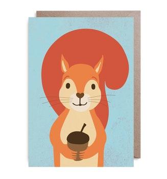 Kort - Nutty Squirrel