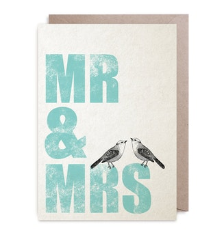 Kort - Mr & Mrs