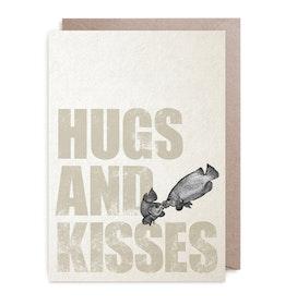 Kort - Hugs & Kisses