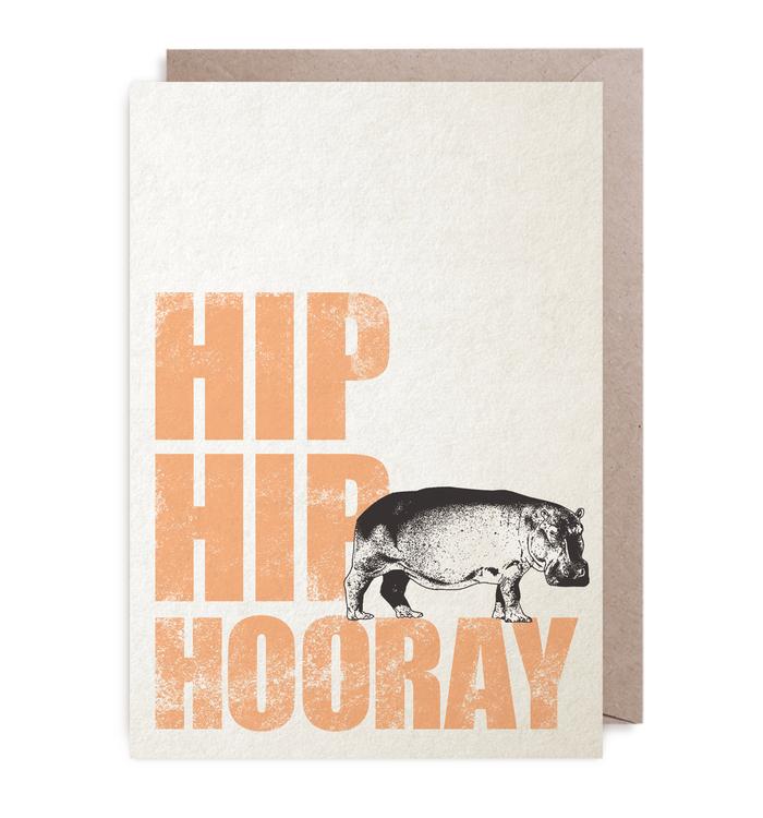 Kort - Hip, Hip, Hooray