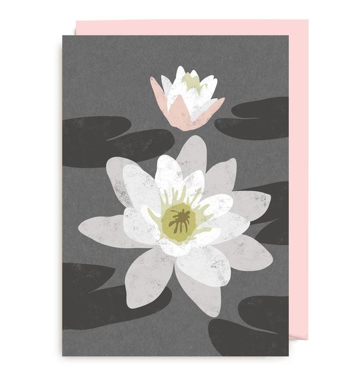 Kort - Rustik Water Lily