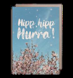 Kort - Hipp, hipp, Hurra!