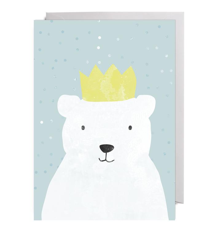 Kort Party Animals  Polar Bear