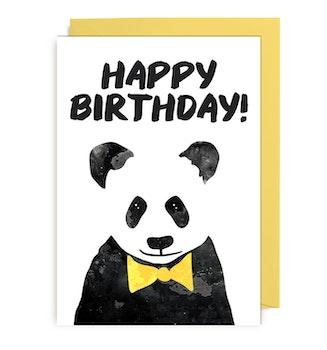Kort - Party Animals Panda