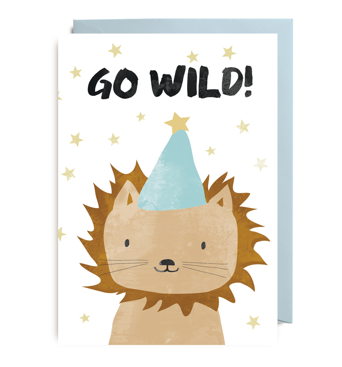 Kort - Party Animals Go Wild