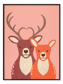 Poster - Rådjur