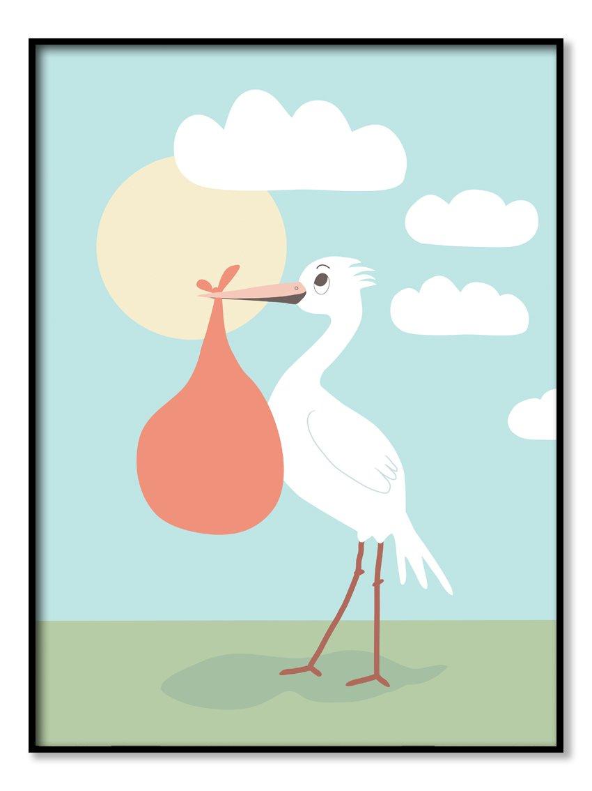 Poster - Stork