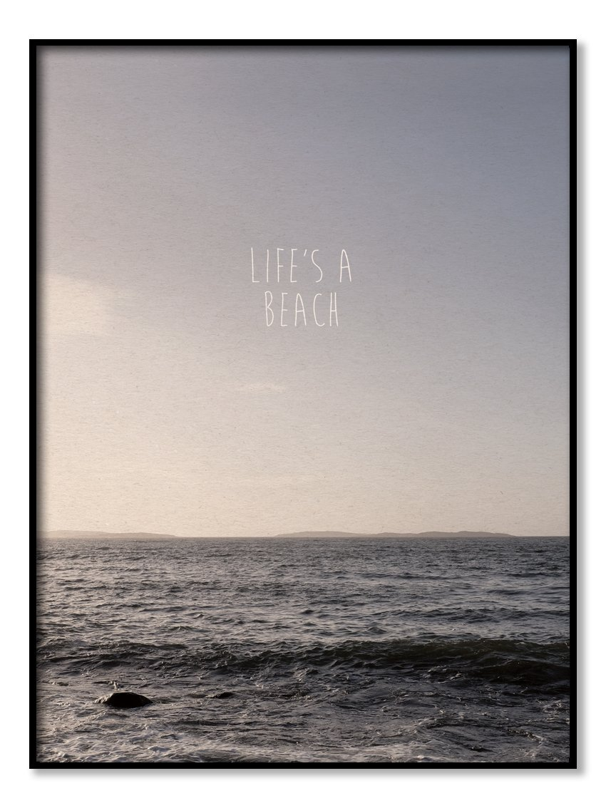 Poster - Life's a Beach