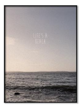 Poster - Life's a Beach