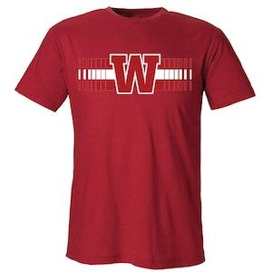 IK Waxholm t-shirt, röd