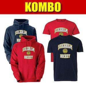 SIHF paket, t-shirt & hood