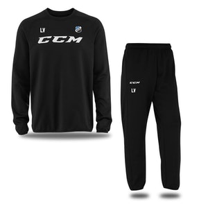 CCM Locker Room Suit, Jr Nacka HK