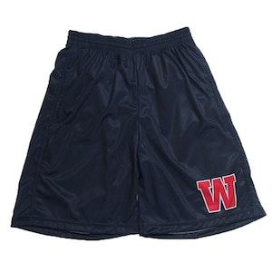 Waxholm shorts, med fickor