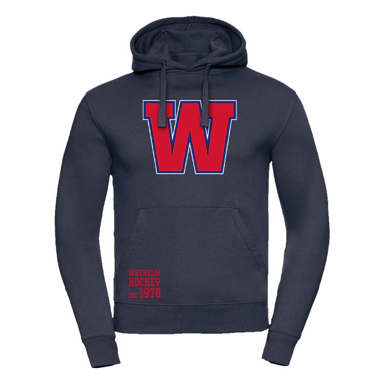 Nyhet! Waxholm hoodie Sr, Navy