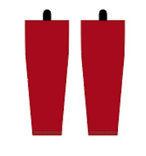 Träningsdamasker röda