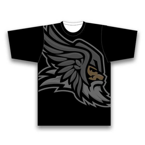 THC funktions T-shirt, svart