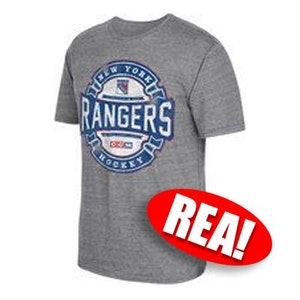 New York Rangers Game Tested Tee, CCM