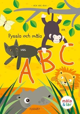 Pyssla & Måla ABC av Tinna Ahlander