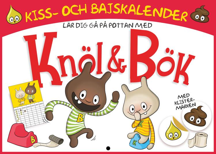 Knöl & Bök - Kiss & Bajskalender av Millis Sarri