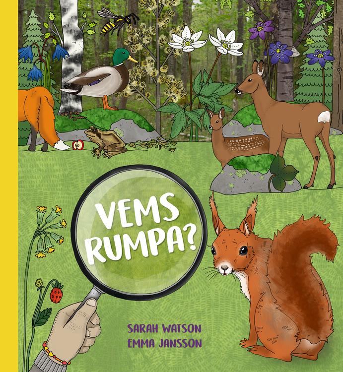 """Vems rumpa?"" av Sarah Watson & Emma Jansson"