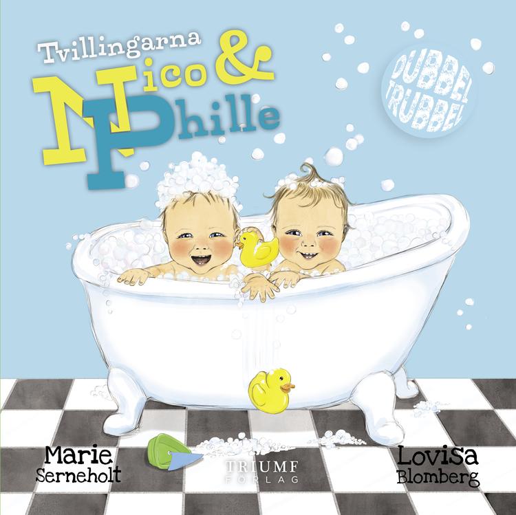"""""""Tvillingarna Nico & Phille"""" av Marie Serneholt"""