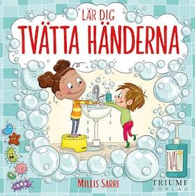 """""""Lär dig tvätta händerna"""" av Millis Sarri"""