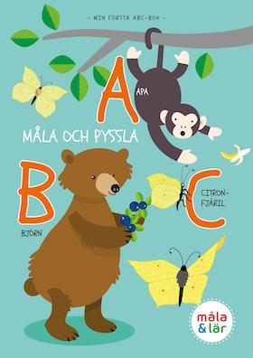 Måla & Pyssla djurens ABC av Tinna Ahlander