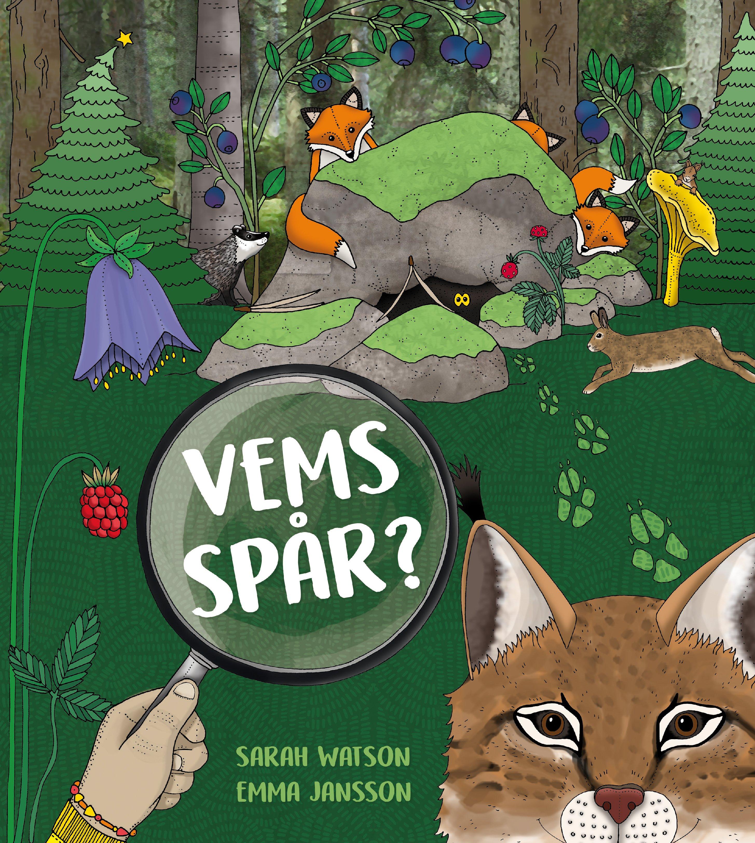 """Vems spår? av Sarah Watson & Emma Jansson """"Lilla formatet"""""""