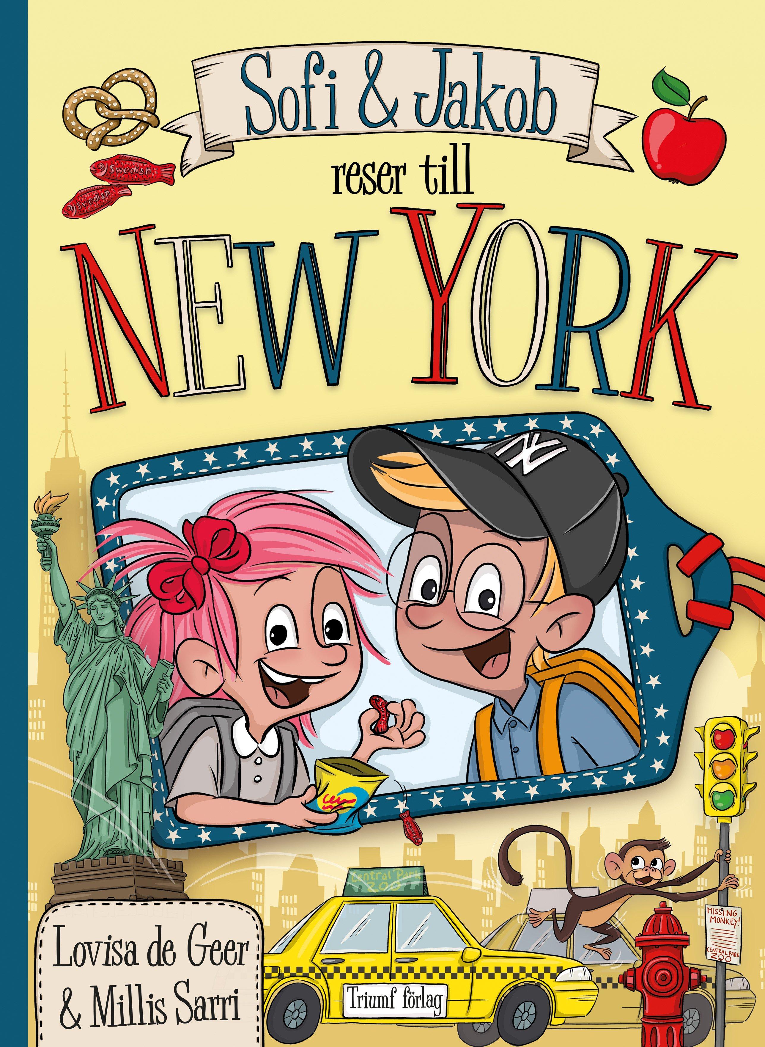 Sofi & Jakob reser till New York av Lovisa de Geer & Millis Sarri