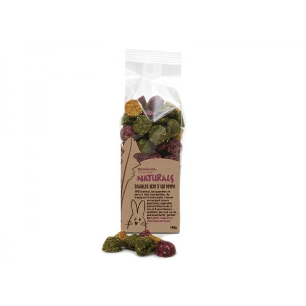 Spannmålsfria Herb 'n' Veg droppar 140g