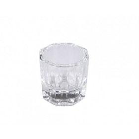 Dappendish i glas | Färgkopp i glas | Kopp för blandning av färg