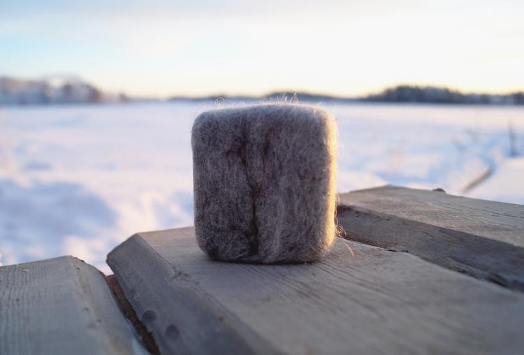 Ekologisk tovad tvål ca 80 gram, Malin i Ratan