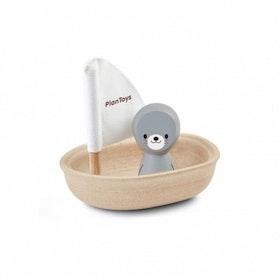 Segelbåt säl, Plan Toys