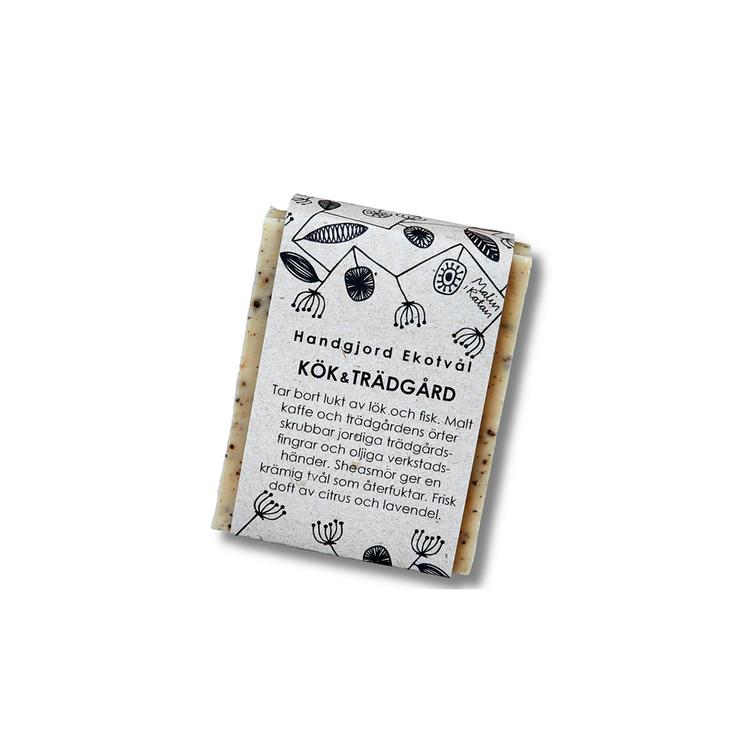 Ekologisk tvål kök och trädgård 110  gram