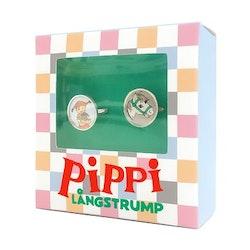 Ringar  2 pack Pippi o Lilla Gubben