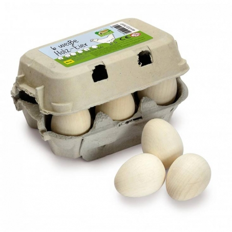 6 pack ägg i kartong
