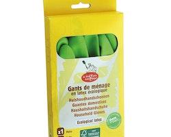 Gummihandskar i naturlatex