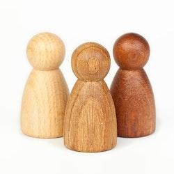 Små trädockor