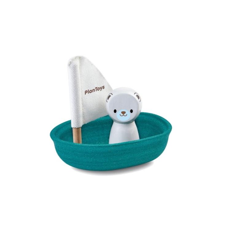 Segelbåt isbjörn